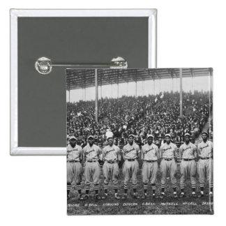 Equipo de béisbol de los monarcas de Kansas City Pin Cuadrado
