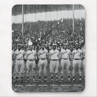 Equipo de béisbol de los monarcas de Kansas City Alfombrillas De Ratón