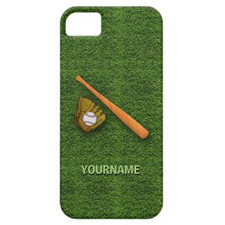 Equipo de béisbol fresco - guantes del bate de iPhone 5 funda