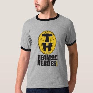 Equipo de camiseta oficial de los héroes - hombres camisas