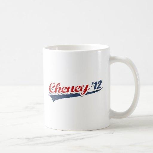 Equipo de Cheney Tazas De Café
