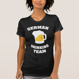 Equipo de consumición alemán camisetas