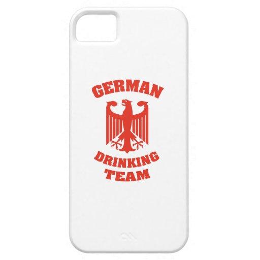 Equipo de consumición alemán iPhone 5 Case-Mate cárcasas