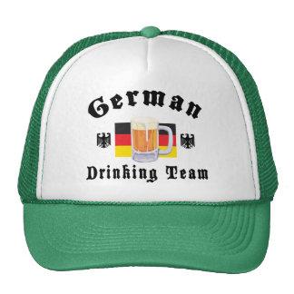 Equipo de consumición alemán gorros bordados