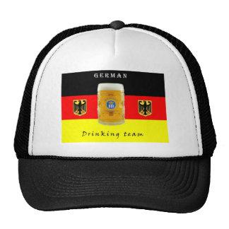 Equipo de consumición alemán, gorra