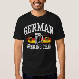 Equipo de consumición alemán playera
