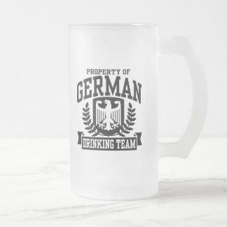Equipo de consumición alemán tazas de café
