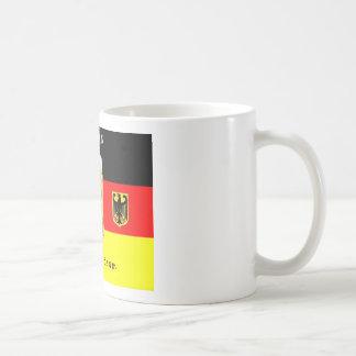 Equipo de consumición alemán taza de café