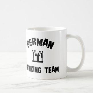equipo de consumición alemán tazas