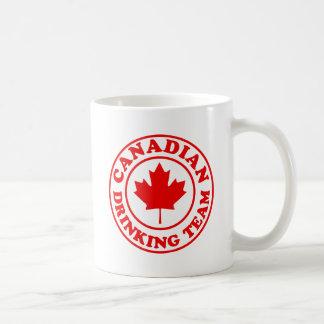 Equipo de consumición canadiense tazas