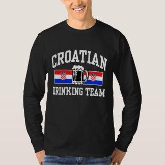 Equipo de consumición croata playera