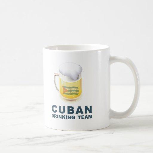 Equipo de consumición cubano taza clásica