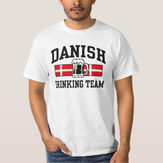 Equipo de consumición danés playera