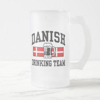 Equipo de consumición danés taza