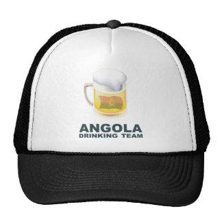 Equipo de consumición de Angola Gorros
