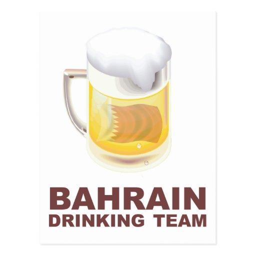 Equipo de consumición de Bahrein Tarjetas Postales