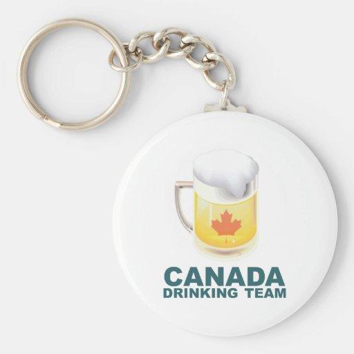 Equipo de consumición de Canadá Llaveros