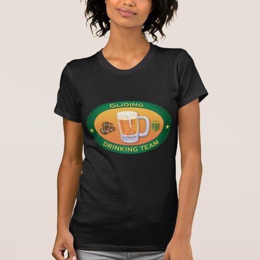 Equipo de consumición de deslizamiento camisetas