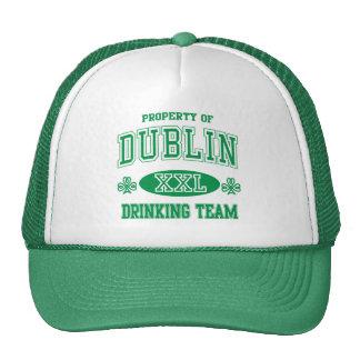 Equipo de consumición de Dublín Gorros Bordados