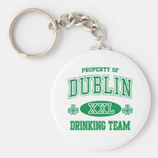 Equipo de consumición de Dublín Llavero