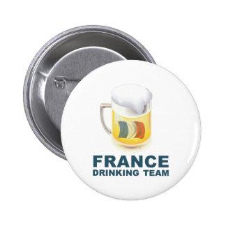 Equipo de consumición de Francia Pin
