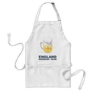 Equipo de consumición de Inglaterra Delantal
