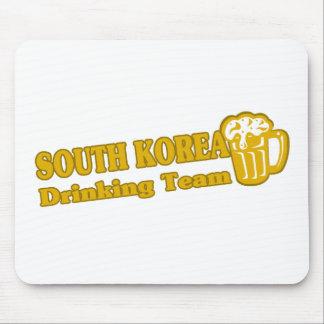 Equipo de consumición de la Corea del Sur Alfombrillas De Ratón