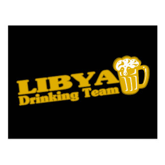 Equipo de consumición de Libia Tarjetas Postales