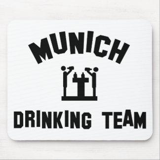 Equipo de consumición de Munich Alfombrilla De Raton