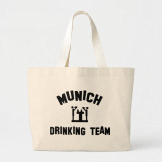 Equipo de consumición de Munich Bolsa Tela Grande