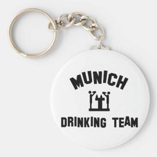 Equipo de consumición de Munich Llavero Redondo Tipo Pin