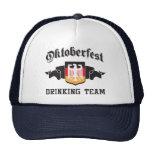 Equipo de consumición de Oktoberfest Gorras De Camionero