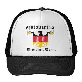 Equipo de consumición de Oktoberfest Gorras