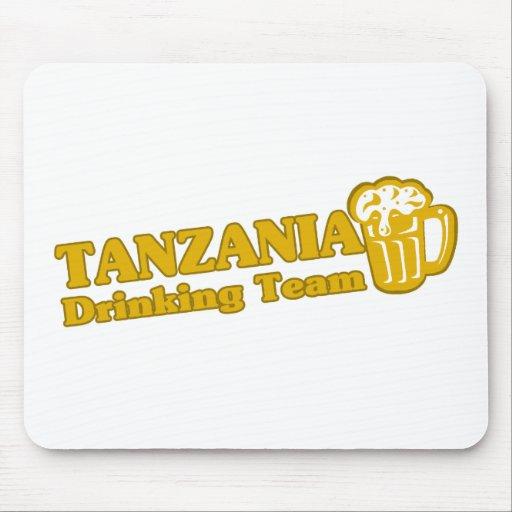 Equipo de consumición de Tanzania Alfombrilla De Ratones