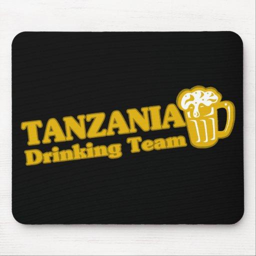 Equipo de consumición de Tanzania Tapetes De Raton