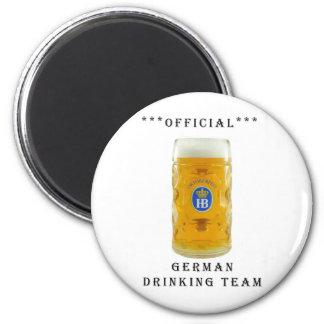 equipo de consumición del alemán oficial imanes de nevera