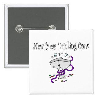 Equipo de consumición del Año Nuevo Pin