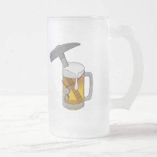 Equipo de consumición del departamento de la taza cristal mate