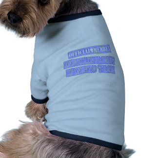 Equipo de consumición del endocrinólogo ropa de perros