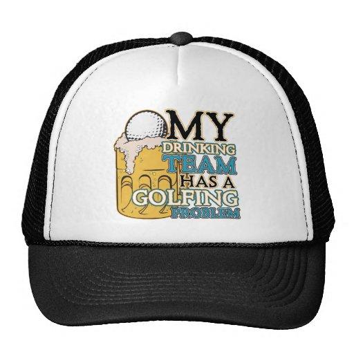 Equipo de consumición del golf gorras