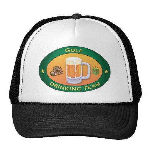 Equipo de consumición del golf gorras de camionero