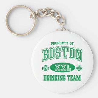 Equipo de consumición del irlandés de Boston Llavero