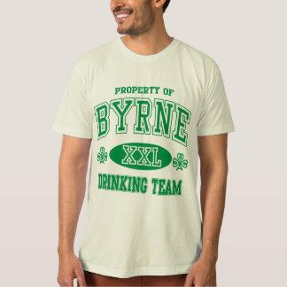 Equipo de consumición del irlandés de Byrne Playera
