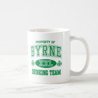 Equipo de consumición del irlandés de Byrne Taza De Café