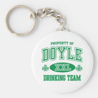 Equipo de consumición del irlandés de Doyle Llaveros