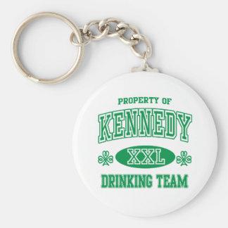 Equipo de consumición del irlandés de Kennedy Llavero Personalizado