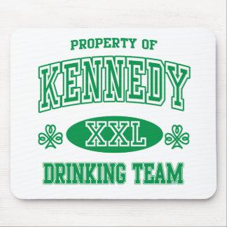 Equipo de consumición del irlandés de Kennedy Tapete De Raton