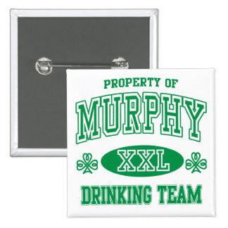 Equipo de consumición del irlandés de Murphy Pin