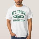 Equipo de consumición del irlandés de Nueva York Playera