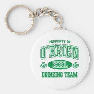 Equipo de consumición del irlandés de O'Brien Llaveros